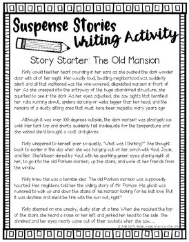 Suspense Stories: The Old Mansion