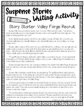 Suspense Stories: Valley Forge Recruit