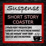STORY ELEMENT COASTER:  Powerpoint, Notes, Practice with a Story