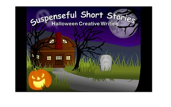 Suspenseful Short Stories Halloween Creative Writing Activity