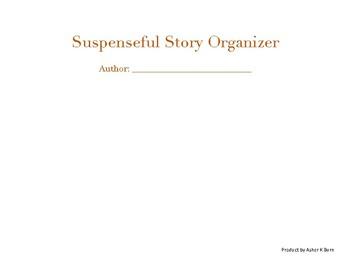 Suspenseful Story Organizer Bundle