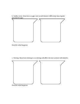 Suspensions, Solutions, and Solubility Handout