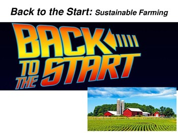 Sustainability: Back to the Start