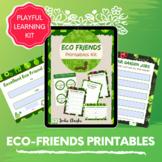Sustainability Eco Kids Printables