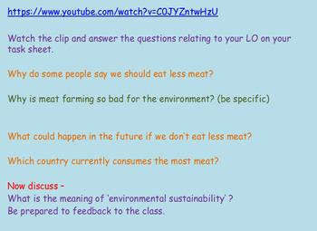 Sustainability: Food
