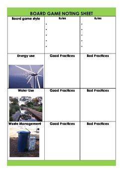 Sustainability Game