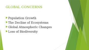 Sustainability, Stewardship and Sound Science Powerpoint
