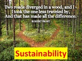 Sustainability: Two Roads Diverged