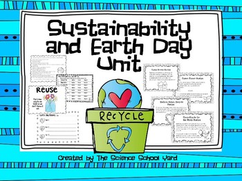 Earth Day and Sustainability Pack