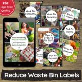 Sustainability Waste Printables for EYLF, EYFS, Preschool,