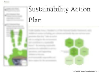 Sustainability action plan