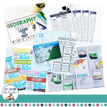 Sustainable Biomes: Year 9 Geography Unit - Australian & NSW Curriculum BUNDLE