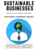 Sustainable Businesses (PBL Build an Eco-Friendly Business)