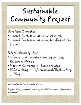Sustainable Community Project