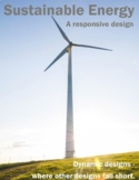 Sustainable Energy Responsive Design 6 Pack .DOC - Design