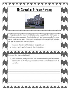 Sustainable Home Project Journal