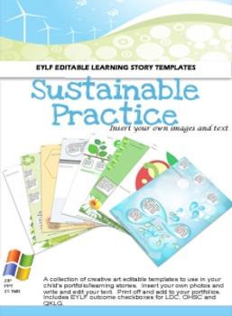 Sustainable Practice Portfolio Pack
