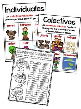 Sustantivo: Individual y Colectivo