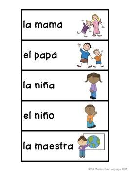 Sustantivos ( A Nouns Unit in SPANISH)