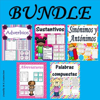 Sustantivos- Abreviaturas- Adverbios-Sinonimos y Antonimos-Palabras Compuestas