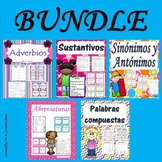 Sustantivos- Abreviaturas- Adverbios-Sinonimos y Antonimos