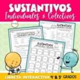 Sustantivos Individuales & Colectivos Libreta Interactiva