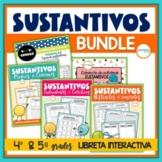 Sustantivos Libreta Interactiva Bundle