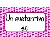 Sustantivos (NOUNS SPANISH)