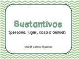 Sustantivos (Nouns in Spanish)