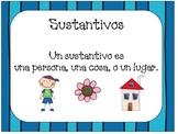 Sustantivos- Nouns in Spanish