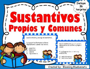 Sustantivos - Propios y Comunes - Gramática