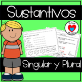 Sustantivos Singular y Plural   spanish