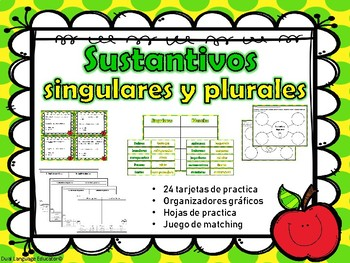 Sustantivos Singulares y Plurales - Singular and Plural Nouns