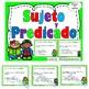 Sujeto y Predicado-Sustantivos-Verbos- Adjetivos-Pronombres-Gramática-BUNDLE