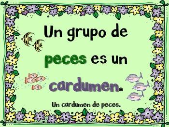 Spanish Collective Nouns (Sustantivos colectivos)