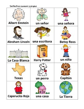 Spanish: Common and Proper Nouns (Sustantivos comunes y propios)