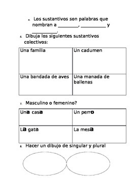 Sustantivos-examen