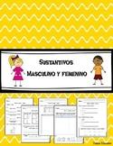 Sustantivos masculinos y femeninos   Masculine and Feminine Nouns in Spanish