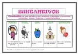 Spanish Sustantivos packet: writing practice: Revise and edit