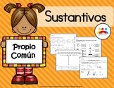 Sustantivos propios y comunes | proper and common nouns in spanish