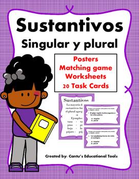 Sustantivos singular y plural