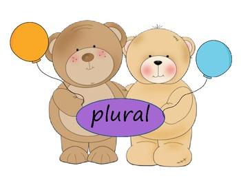 Sustantivos singulares y sustantivos plurales
