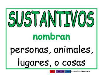 Sustantivos verde