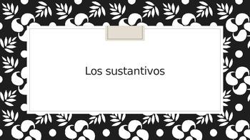 Sustantivos/Nouns Practice PowerPoint