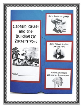 Sutter's Fort Lapbook