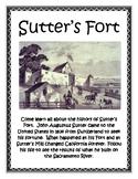 Sutter's Fort Lapbook