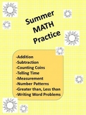 End of Year or Summer Math Practice