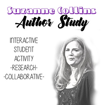 Suzanne Collins Author Study, Author BIo