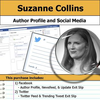 Suzanne Collins - Author Study - Profile and Social Media
