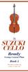 Suzuki Cello Group Lesson Plan
